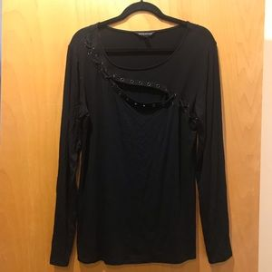 Rock & Republic Long Sleeve Top